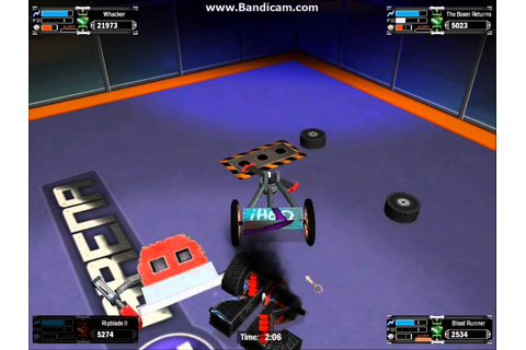 Robot arena 2 DSL Rumble battles and funny moments - YouTube