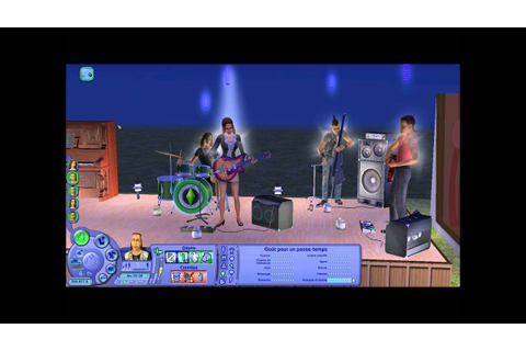 sims 2 rock band - YouTube