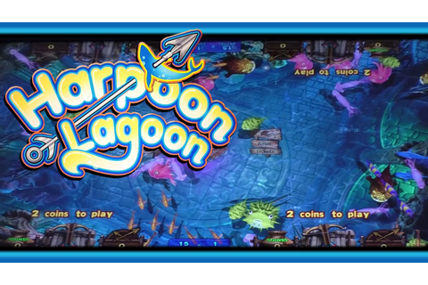 Harpoon Lagoon Jackpot - Arcade Ticket Game - YouTube