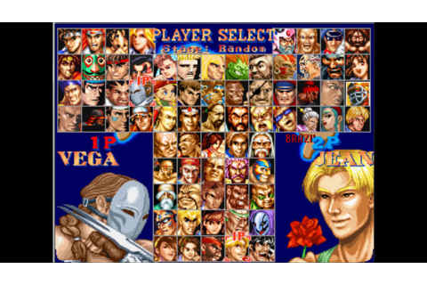 Street Fighter 2 vs Clones Series EP8: Vega vs Jean ...