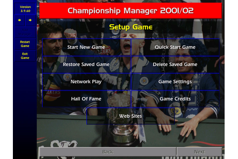 Championship Manager: Season 01/02 Screenshots for Windows ...