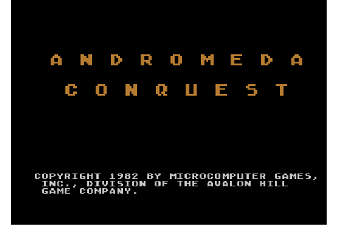 Download Andromeda Conquest - My Abandonware
