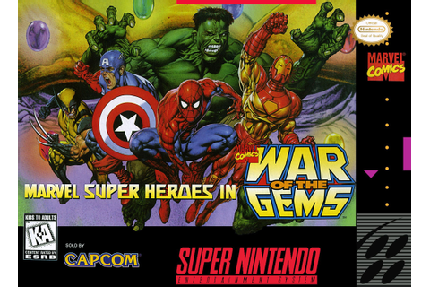 Marvel Super Heroes: War of the Gems – Super Nintendo ...