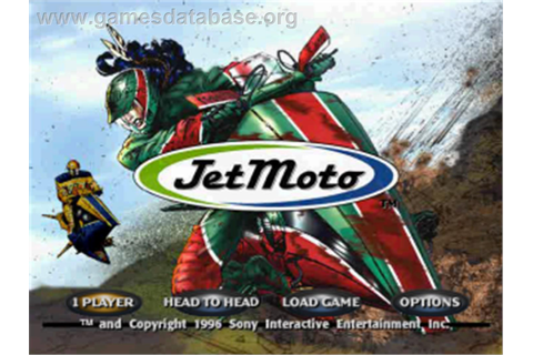 Jet Moto - Sony Playstation - Games Database