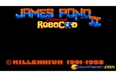 James Pond 2 - Codename Robocod gameplay (PC Game, 1991 ...