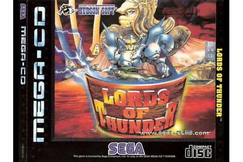 LORDS OF THUNDER SEGA CD OST TRACK 13 - YouTube