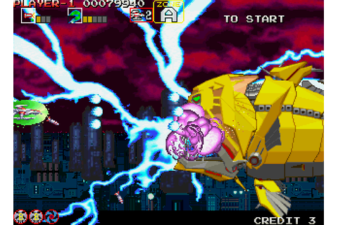 Darius Gaiden: Silver Hawk screenshots for Arcade