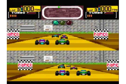 Final Lap Twin Game Sample -- TurboGrafx-16 - YouTube