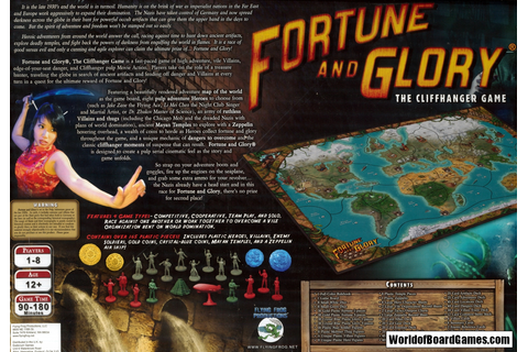 Fortune and Glory - The Cliffhanger Game ...