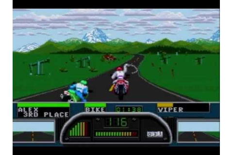 Road Rash II Playthrough Part 1: I Love Chains - YouTube
