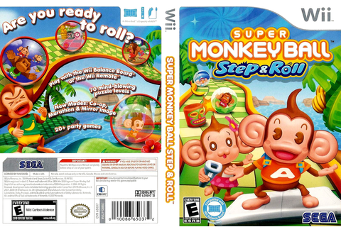 SMBE8P - Super Monkey Ball: Step & Roll