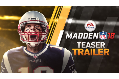 Madden 18 - Official Teaser Trailer - YouTube