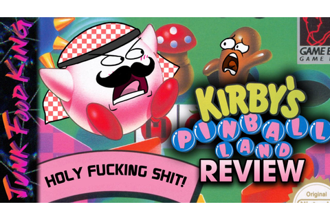 Kirby's Pinball Land Review - Junk Food King - YouTube