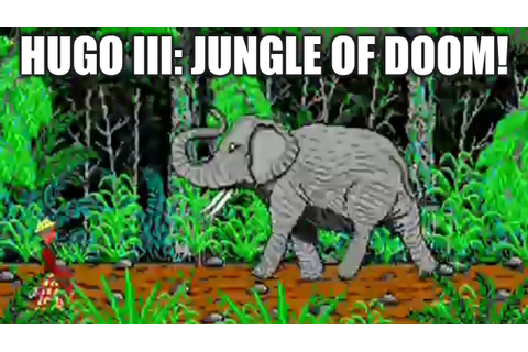 HUGO 3: JUNGLE OF DOOM Adventure Game Gameplay Walkthrough ...