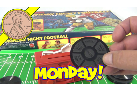 ABC Sports Talking Monday Night Football Board Game 1977 ...