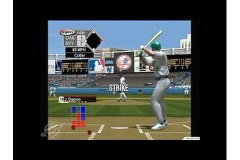 World Series Baseball 2K3 Xbox Gameplay_2003_01_22_6 - YouTube