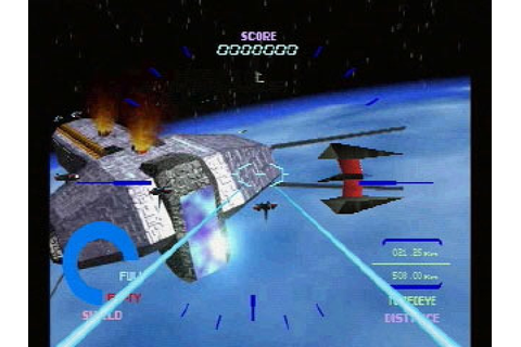 Starblade α (1995) by Namco for PS1