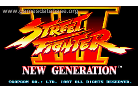 Street Fighter III: New Generation - Arcade - Games Database