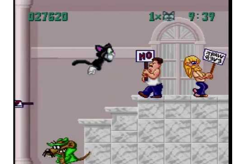 Socks the Cat Rocks the Hill SNES gameplay - YouTube