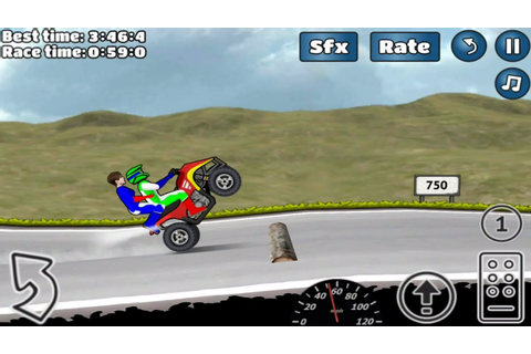 Quad Wheelie Challenge Android Game - YouTube
