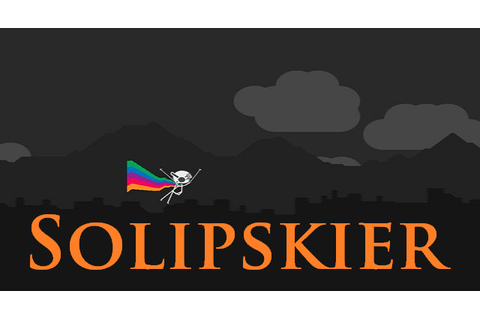 Solipskier is a funny winter game. Draw ski track with ...