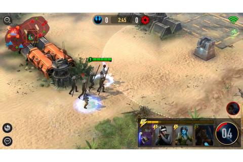 Star Wars: Force Arena - Best Android Game - YouTube