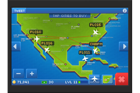 Pocket Planes - Free Airline Management Game - AppRecs