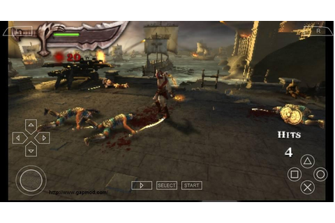 God of War: Chains of Olympus ISO PSP AndroidGapmod