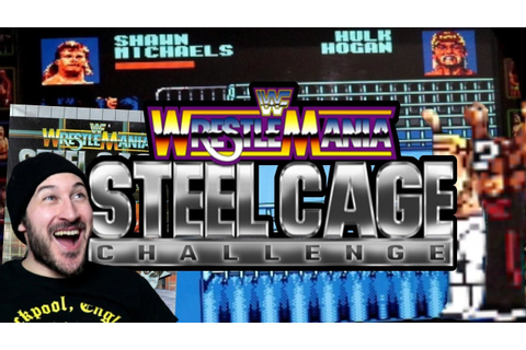 WWE / WWF STEEL CAGE CHALLENGE Computer Game!!! END SCREEN ...