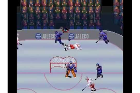 SNES Pro Sports Hockey - YouTube