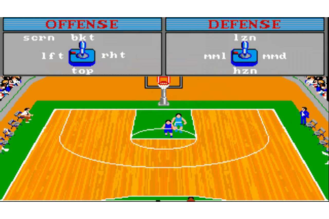 Championship Basketball - Two-on-Two ROM - Amiga 500 (A500 ...