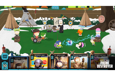 South Park: Phone Destroyer è disponibile su dispositivi ...