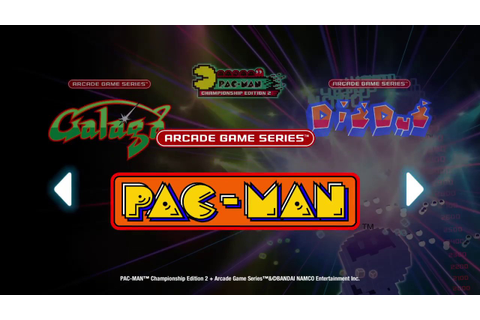 PAC-MAN Championship Edition 2 + Arcade Game Series (PS4 ...