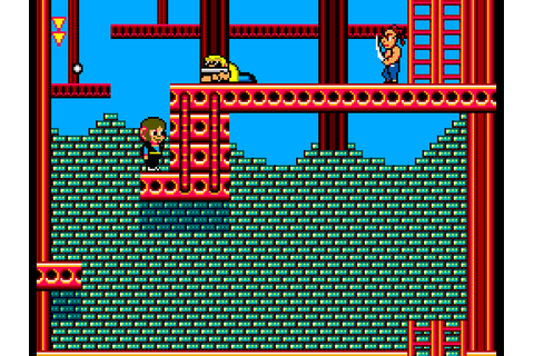Alex Kidd in Shinobi World (1990) by Sega Master System game