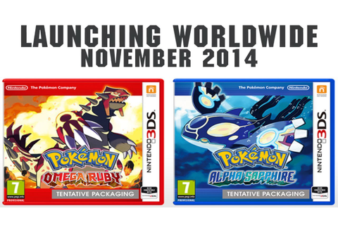 POKEMON OMEGA RUBY AND ALPHA SAPPHIRE! New games CONFIRMED ...