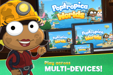Poptropica Worlds game (apk) free download for Android/PC ...
