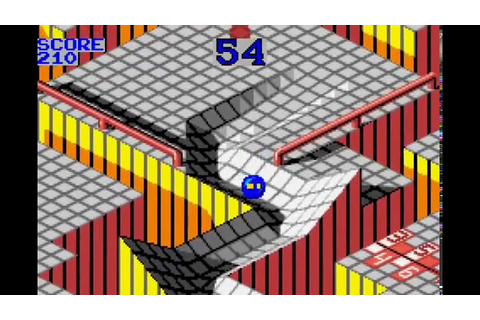 Marble Madness Game Boy Advance 60fps - YouTube
