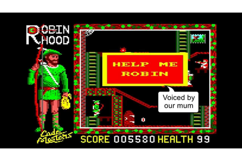 Let's Play Super Robin Hood by the Oliver Twins - 1986 ...