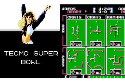 Tecmo Super Bowl: The Best Video Game Ever : Sports Comedy ...