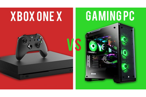 NEW XBOX ONE X VS GAMING PC ! Is this the console to BEAT ...