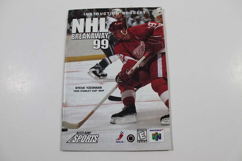 Manual - Nhl Breakaway 99 - Nintendo N64