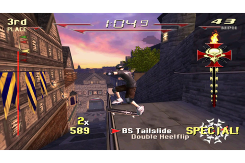 Sony PS2 PCSX2 Tony Hawk´s Downhill Jam ENG FULL HD - YouTube