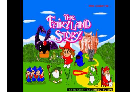 The Fairyland Story - Main Theme (Sharp X68000 Arrange ...