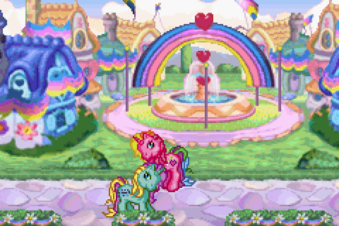 My Little Pony Crystal Princess: The Runaway Rainbow ...