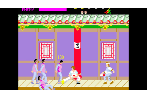 Arcade Game: Kung-Fu Master (1984 Irem) - YouTube