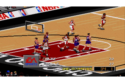 NBA Live 98 Sega Genesis Gameplay HD - YouTube