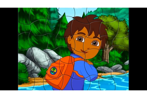 GO, DIEGO, GO! Cool Puzzle Games - YouTube