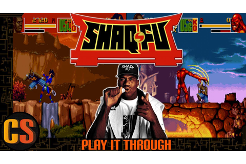 SHAQ FU (SNES) - PLAY IT THROUGH - YouTube