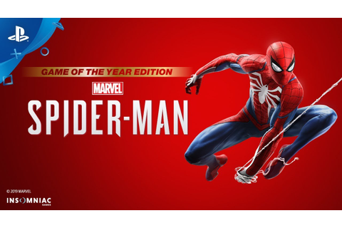 Marvel's Spider-Man: Game of the Year Edition - Accolades ...