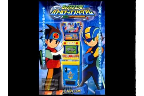 Rockman EXE Battle Chip Stadium OST Intro - YouTube